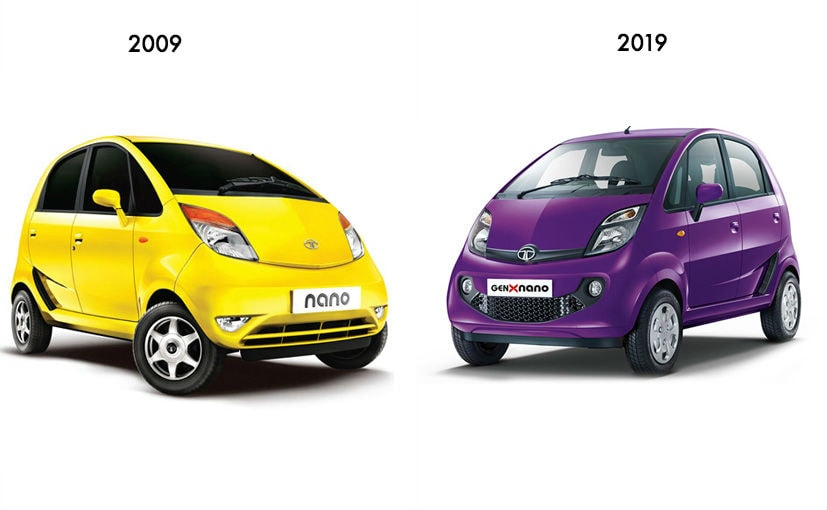 The Tata Nano was launched in 2009, like a host of other cars that year. Here's how they've aged