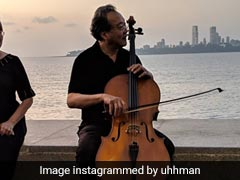 Watch: Impromptu Gig By Grammy Award-Winning Cellist Yo-Yo Ma At Marine Drive