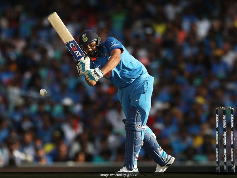 1st ODI: Rohit Sharma Breaks Viv Richards' Record With 22nd ODI Hundred