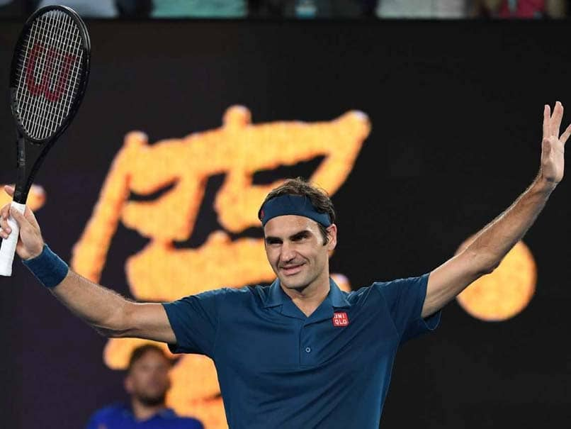 Ageless Roger Federer Sweeps Into Australian Open Round Two