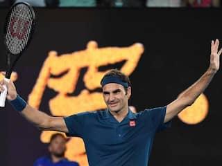 Ageless Roger Federer Sweeps Into Australian Open Round Two