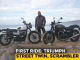 Video: 2019 Triumph Street Twin, Street Scrambler First Ride Review