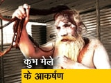 Video : कुंभ मेले में आकर्षण के तमाम केंद्र