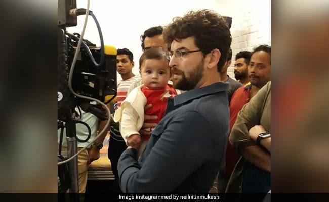 Guess Who Visited Neil Nitin Mukesh On The Sets Of Bypass Road?