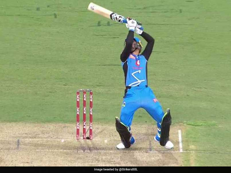 Big Bash League: Rashid Khan Plays MS Dhoni