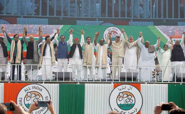 'Modi Government's Expiry Date Over': Mamata Banerjee At Opposition Rally