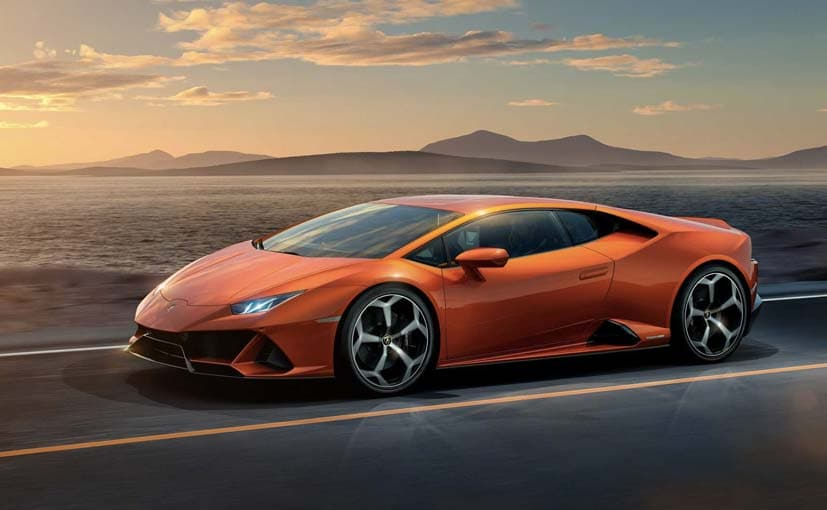 The Lamborghini Huracan Evo gets a revised front and rear end to better its aerodynamics.