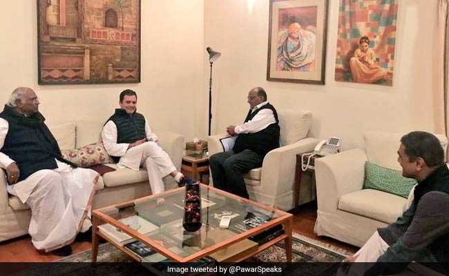 Seat-Sharing Talks Still On With Sharad Pawar's Party: Congress