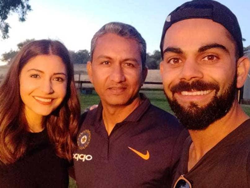 India vs Australia: Virat Kohli posted a picture along with India team batting coach Sanjay Bangar and wife Anushka Sharma