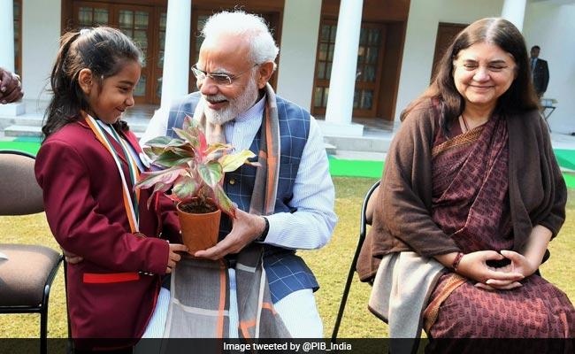 PM Modi Encourages Rashtriya Bal Puraskar Winners To Be Role Models
