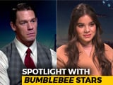 Video : Spotlight With <i>Bumblebee</i> Stars John Cena & Hailee Steinfeld