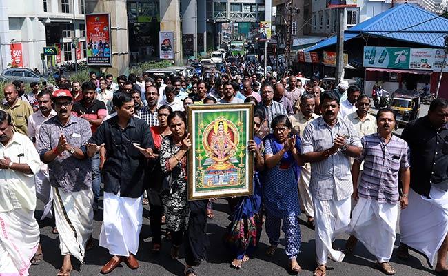 सबरीमाला मंदिर में महिलाओं की एंट्री के खिलाफ आज केरल बंद, झड़प में 1 प्रदर्शनकारी की मौत