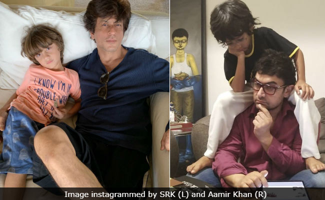 Shah Rukh-AbRam, Aamir Khan-Azad And The Story Of Two Awesome Father-Son Pics