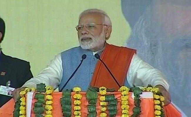 गुरदासपुर में पीएम का कांग्रेस पर हमला, 'जो दंगों के आरोपियों को CM बनाते हैं, देश को उनसे सतर्क रहने की ज़रूरत'