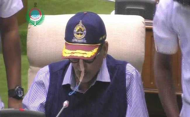 मनोहर पर्रिकर को गोवा मेडिकल कॉलेज में कराया गया भर्ती, अस्पताल के बाहर भारी पुलिस बल तैनात