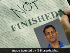MS Dhoni Not Finished... माही का चला बल्ला तो फैन्स ने आलोचकों को दिए ऐसे जवाब