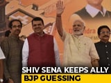 "Video : ""We Are Big Brother In Maharashtra"": Sena's Message For BJP After Meeting"