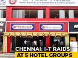 Video : 5 Restaurant Chains Including Saravana Bhavan Raided In Chennai