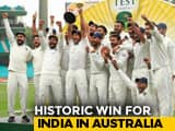 Cricketers, Bollywood Stars Laud Indias Historic Win In Australia