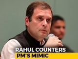"Video : People's Cry, ""Your Highness"": Rahul Gandhi Retorts To PM's ""Bachao"" Barb"