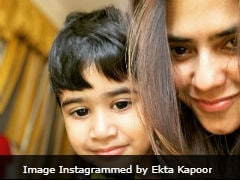 The Internet Hearts Ekta Kapoor's Selfie With The 'Love Of Her Life' Laksshya