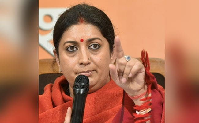 How Can Those Who 'Looted Poor' Target PM: Smriti Irani Asks Rahul Gandhi