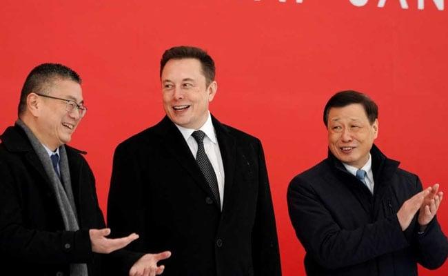 Elon Musk Breaks Ground As Tesla Begins Work On First China Plant