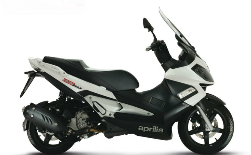 The Aprilia SR Max 300 is a feature rich scooter