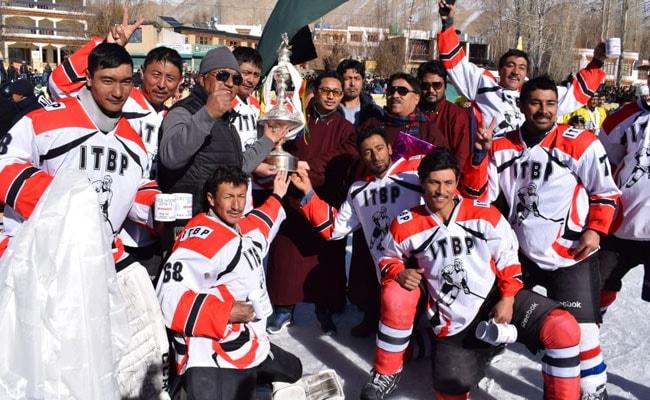 ITBP ने लद्दाख में आइस हॉकी चैंपियनशिप जीती