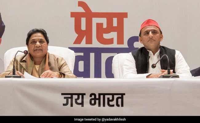 Day After Poll Tie-Up, Akhilesh Yadav's 'Survival' Dig At BJP Leaders