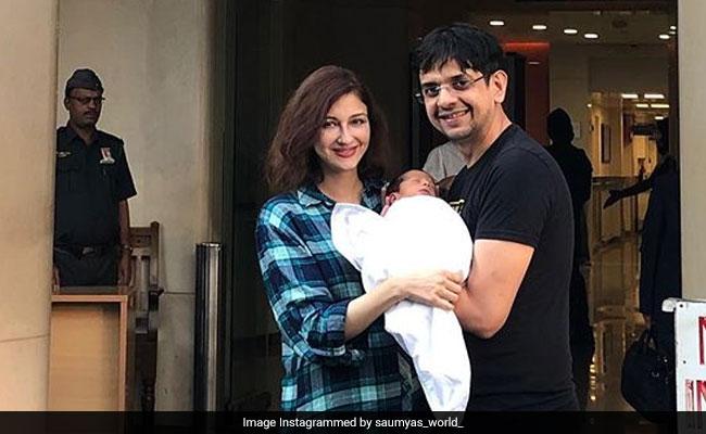 New Mom Saumya Tandon Shares First Pics Of Her Baby Boy On Social Media