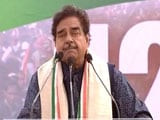 "Video : Clarify On Rafale Or People Will Say ""Chowkidaar Chor Hai"": Shatrughan Sinha"