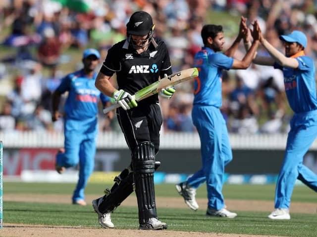 India vs New Zealand 4th ODI Highlights: New Zealand Thrash India By Eight Wickets