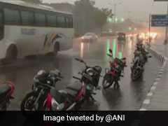 दिल्ली-एनसीआर में तेज बारिश, कई इलाकों में लगा जाम, मौसम विभाग ने जारी की चेतावनी