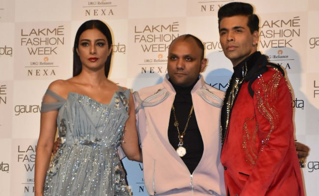 Lakme Fashion Week 2019: Tabu Burns Up Gaurav Gupta's Ramp; Diana Penty And Pooja Hegde In The Front Row