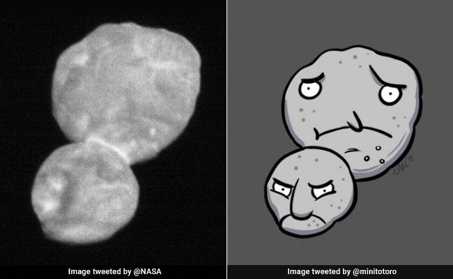 NASA's Pic Of Snowman-Shaped Ultima Thule Inspires Hilarious Memes, Jokes