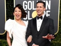 Golden Globes 2019: Hosts Sandra Oh, Andy Samberg Begin With Light-Hearted Banter