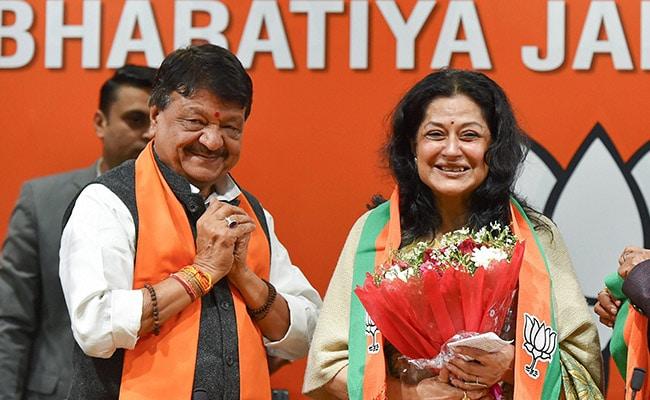 भाजपा में शामिल हुईं बॉलीवुड एक्ट्रेस मौसमी चटर्जी, कांग्रेस के टिकट पर लड़ चुकी हैं चुनाव