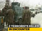 Video : 2 Terrorists Killed In Encounter In Jammu And Kashmir; Operation Underway