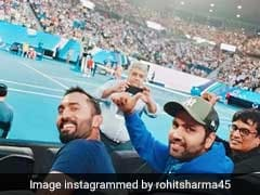 इस खिलाड़ी का मैच देखने पहुंचे टीम इंडिया के रोहित शर्मा और दिनेश कार्तिक....