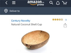 Amazon Is Selling Coconut Shells For Over Rs 1,200 And Indians Are Stunned