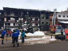 2 Dead, 22 Injured After Fire Breaks Out At Ski Resort In France