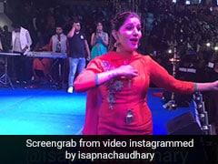 सपना चौधरी ने दिल्ली की सर्दी में 'तेरी आंख्या का यो काजल' पर यूं किया डांस, Video इंटरनेट पर वायरल