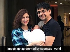 New Mom Saumya Tandon Shares First Pics Of Her Baby Boy On Social Media