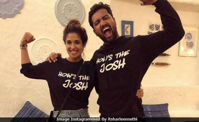 ICYMI, Vicky Kaushal Celebrated Uri's Success With Rumoured Girlfriend Harleen Sethi Like This