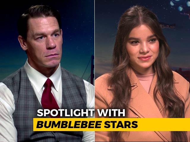 Spotlight With Bumblebee Stars John Cena & Hailee Steinfeld