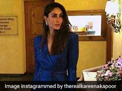 5 Dresses To Dazzle In Blue Like Kareena Kapoor