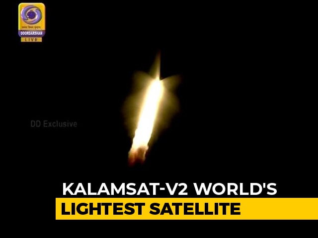 Video : ISRO Successfully Launches World's Lightest Satellite Made By Students
