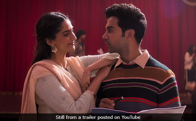 Ek Ladki Ko Dekha Toh Aisa Laga Title Track Is About Rajkummar Rao 's One-Sided Love For Sonam Kapoor