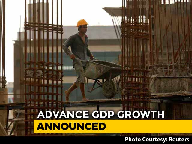 Video : Centre Sees GDP Growth At 7.2% For 2018-19, Up From 6.5% Last Year